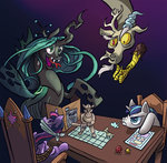 discord game leavingcrow princess_twilight queen_chrysalis shining_armor twilight_sparkle