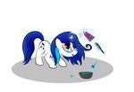 glasses highres transparent vinyl_scratch zomgitsalaura