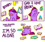 :i book books! comic mspaint seniorpony twilight_sparkle