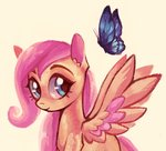 butterfly filly fluttershy switchsugar
