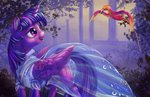 dress philomena princess_twilight twilight_sparkle viwrastupr