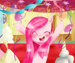 balloon haruliina madame_leflour party pinkamena_diane_pie pinkie_pie rocky