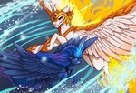 chillyfish daybreaker fight highres magic princess_luna