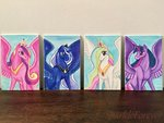 princess_cadance princess_celestia princess_luna princess_twilight sparkleforever traditional_art twilight_sparkle
