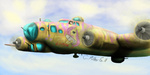 airplane airshipping b17_flying_fortress feralblooddragon fluttershy military world_war_2