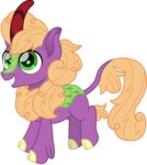 background_ponies cloudyglow highres kirin species_swap vector