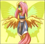 anthro atryl butterfly fluttershy