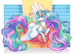 azureprincet cake magic princess_celestia