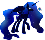 flutterponies g3 generation_leap nightmare_moon transparent zomgitsalaura