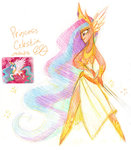 egriz humanized princess_celestia sketch sword weapon