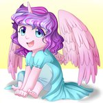 highres horn humanized orauraa princess_flurry_heart wings