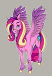 absurdres highres iguanodragon princess_cadance
