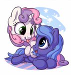 bobdude0 filly princess_luna sweetie_belle