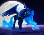 loorelai moon nighttime princess_luna