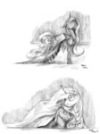 baroncoon dress highres princess_celestia princess_luna traditional_art