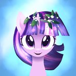 flowers highres songbirdserenade twilight_sparkle