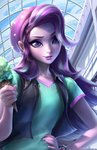 equestria_girls humanized ice_cream imdrunkontea starlight_glimmer