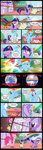 book comic cutie_mark highres mlp-silver-quill old pinkie_pie planet pumpkin_cake rainbow rainbow_dash sonic_rainboom twilight_sparkle vector wig