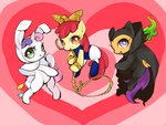 apple_bloom blossom bubbles_(ppg) buttercup costume cutie_mark_crusaders harmony_bunny liberty_belle mange scootaloo sweetie_belle the_powerpuff_girls wang_okawari