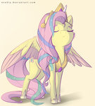 costume evehly fluttershy highres