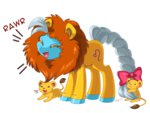jiayi leo lion ponyscopes transparent