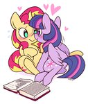 book cuteosphere princess_twilight shipping sunlight sunset_shimmer twilight_sparkle