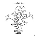 ball docwario lineart plate the_great_and_powerful_trixie
