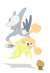 derpy_hooves humanized muffin rockingquix