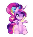 bow ponytail princess_cadance xazteiin