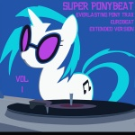 album_cover dj pickapok ponybeat simple vinyl_scratch