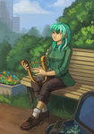 asimos bench humanized lexx2dot0 lyra_heartstrings lyre maytee