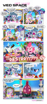 bottle cake cloudchaser comic dead_space dress drunk felt guard_pony gummy hat highres parents pinkie_pie pixelkitties present princess_cadance shining_armor shirt singing snowglobe the_great_and_powerful_trixie twilight_sparkle twilight_velvet umbrella_hat