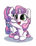 bobdude0 highres princess_flurry_heart sweetie_belle