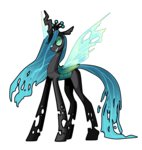anime frogbians highres queen_chrysalis