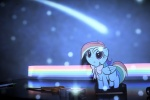 artist_unknown bow filly paper photo rainbow rainbow_dash