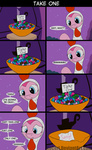 bowl candy chicken comic costume loceri nightmare_night pinkie_pie