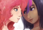 humanized pinkie_pie raikoh14 twilight_sparkle