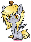 :3 chibi derpy_hooves muffin ponymonster transparent