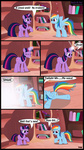 book comic filly highres rainbow_dash spell toxic-mario twilight_sparkle