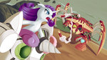 crab dstears highres missile rarity robot sweetie_belle