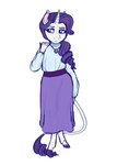 anthro dress earthsong9405 highres rarity