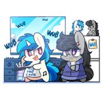 bathrobe bipedal earplug epic_wub_time frying_pan kitchen mackinn7 octavia_melody plushie toy vinyl_scratch