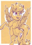 fanch1 highres rainbow_dash traditional_art