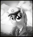 hat highres rainbow_dash thefloatingtree uniform