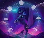 highres princess_luna theoddlydifferentone