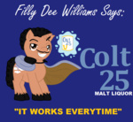 artist_unknown billy_dee_williams commercial parody ponified