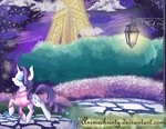 animechristy clothes eiffel_tower highres lamp rarity sweater