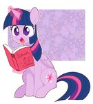 book chau_plum highres magic princess_twilight twilight_sparkle