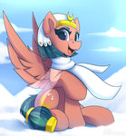 highres scarf shadowreindeer snow somnambula winter