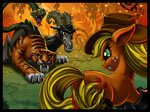 applejack chimera harwick highres